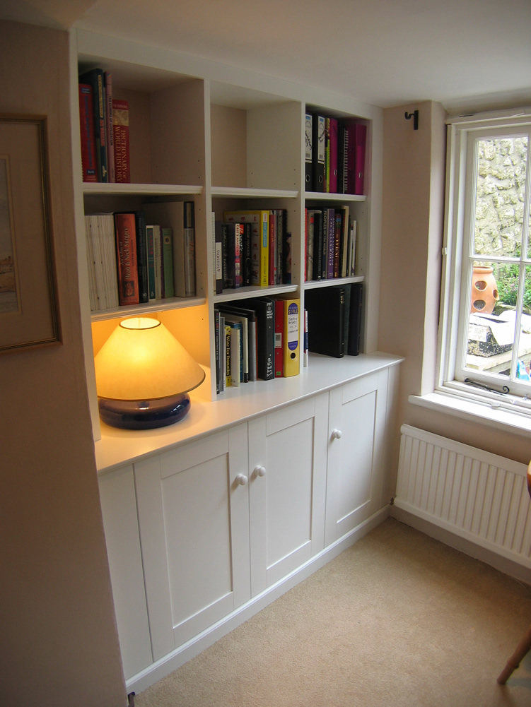 Alcove Cupboard & Shelving