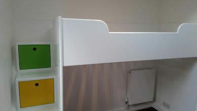 Child's Loft Bed
