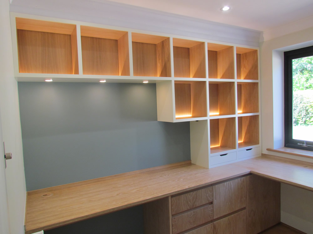 Limed Oak Study Furniture