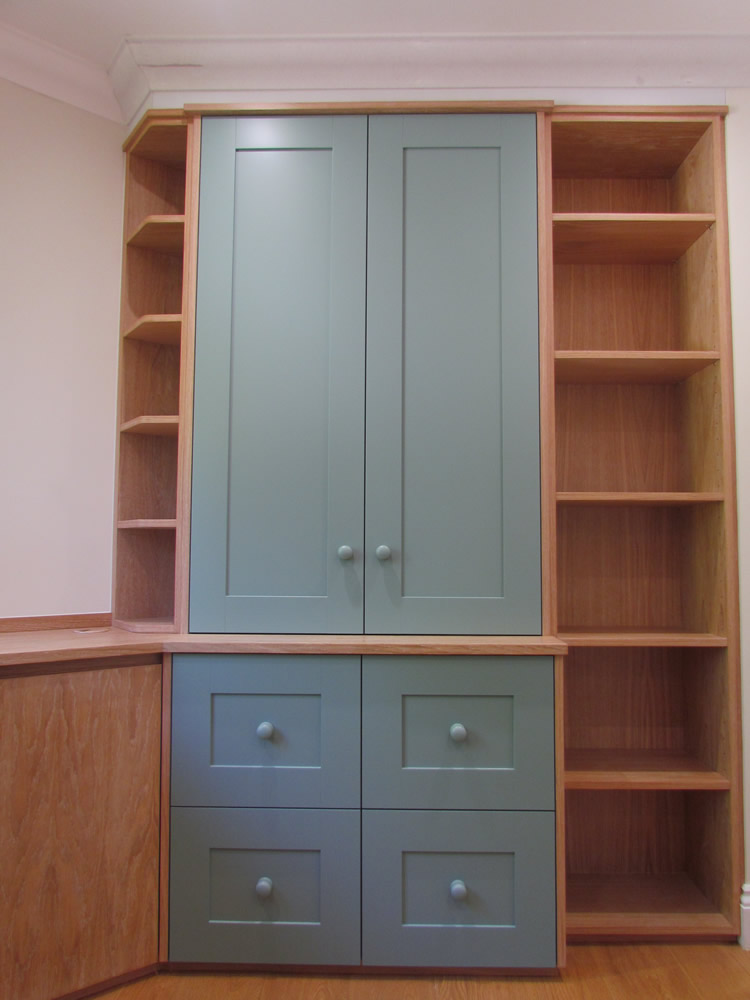 Limed Oak Study Furniture