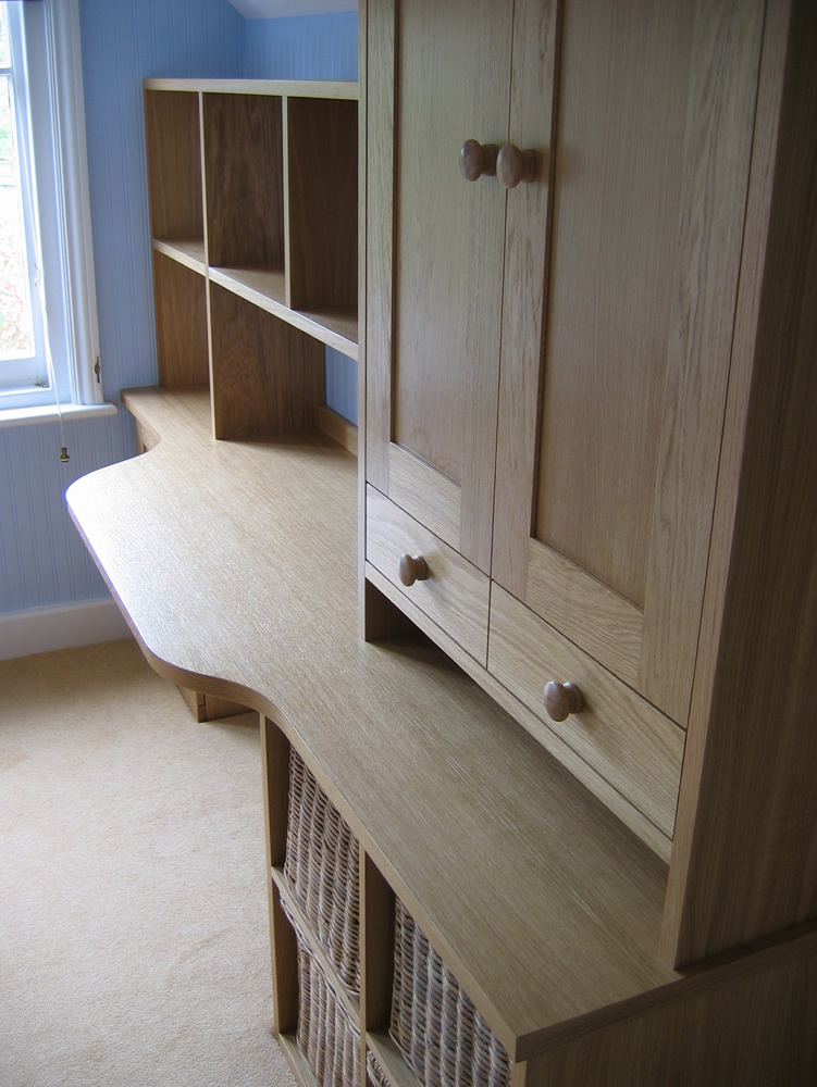 Child's Oak Desk