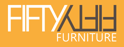 Fifty Fifty Furniture, Aylesbury Buckinghamshire Logo